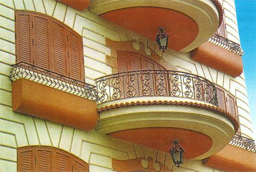 balkon korkulukları demir doğrama