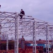 meroğlu çatı demir doğrama