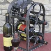 ferforje aksesuar şarap şişelik