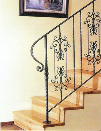 ferforje demir dğrama merdiven korkulukları