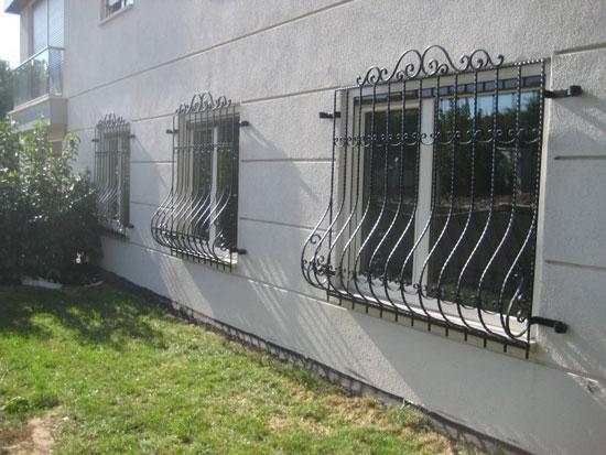 demir doğrama ferforje pencere korkuluğu
