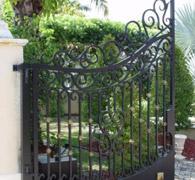 bahçe giriş kapısı demir doğrama